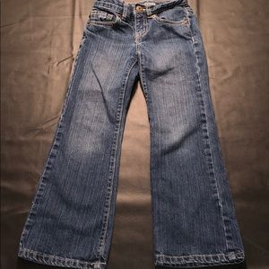 Girls Crazy 8 bootcut jeans size 6 slim